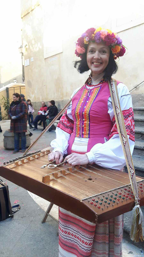 Масленица на Сардинии с участием белорусов