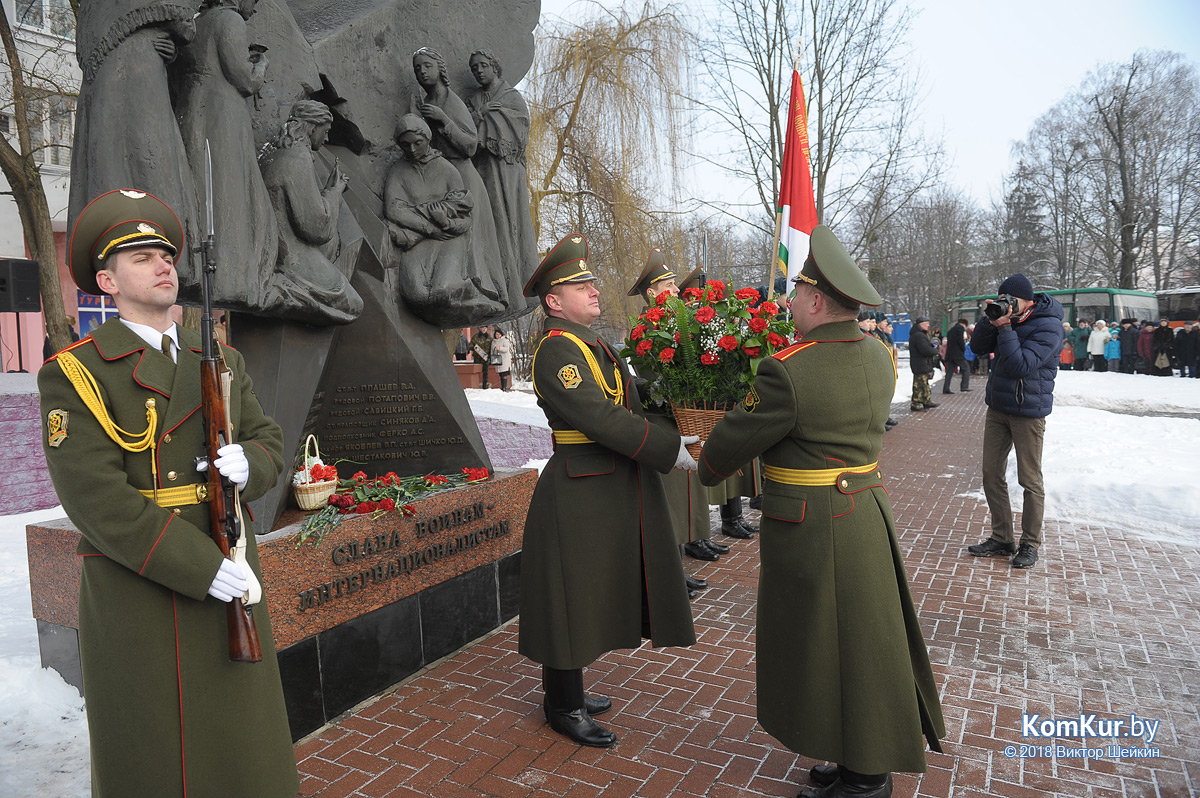 Афганский День Победы в Бобруйске