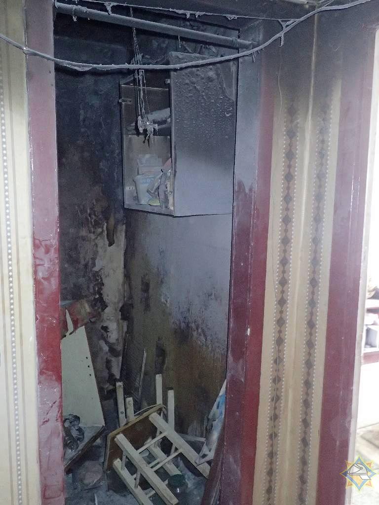 От пожара общежитие в Бобруйске спасла собака!
