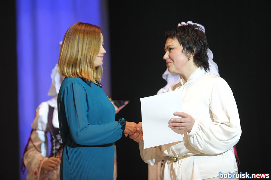 В Бобруйске поздравили учителей