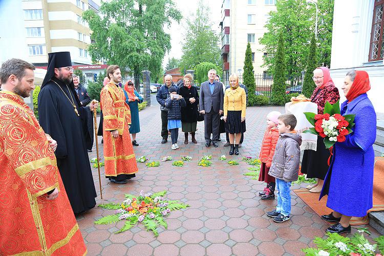 Георгиевский приход Бобруйска праздновал храмовой праздник