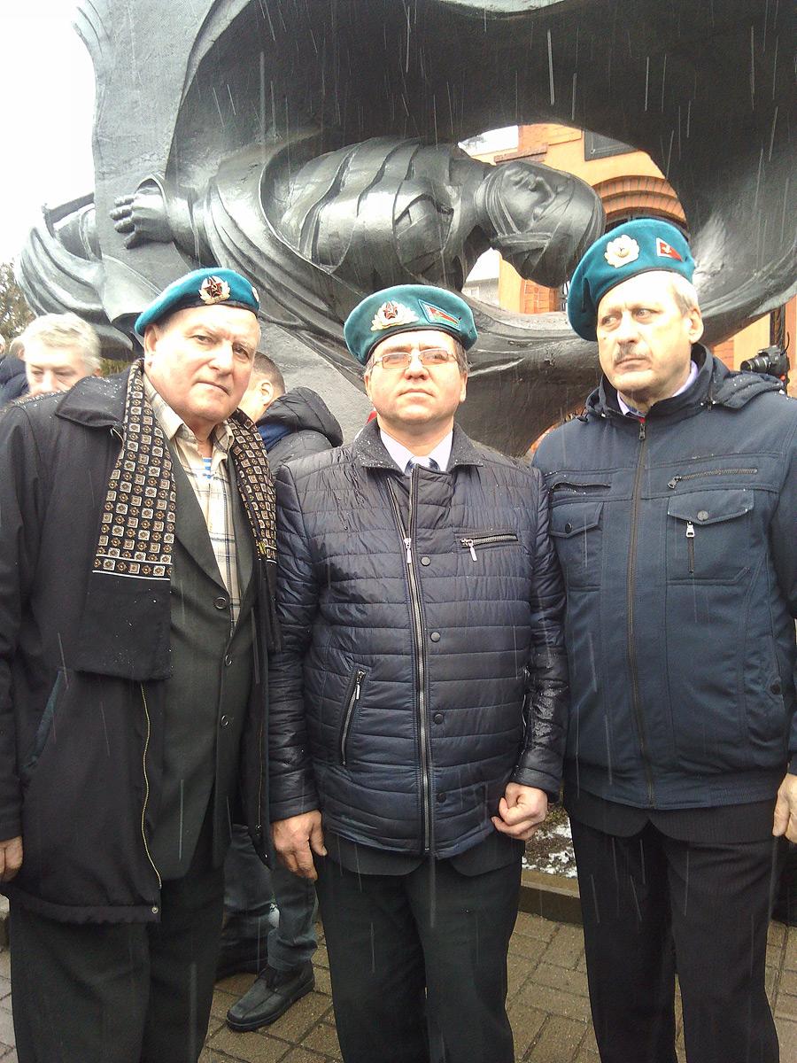 Бобруйчане побывали на юбилее 103 воздушно-десантной Гвардейской дивизии