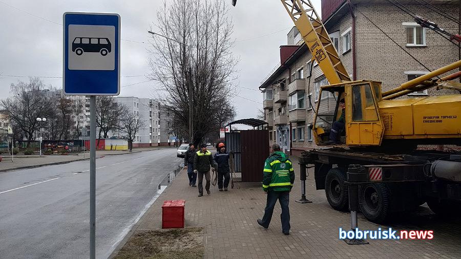 Коммунальщики Бобруйска держат слово: есть новенькая остановка!