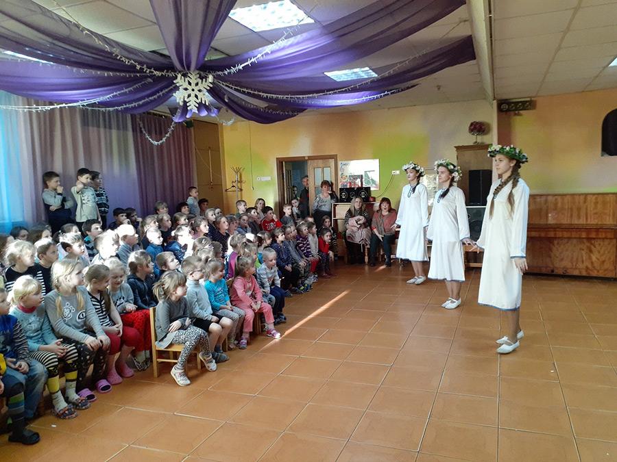 Как в детском санатории «Радуга» встретили масленичную неделю
