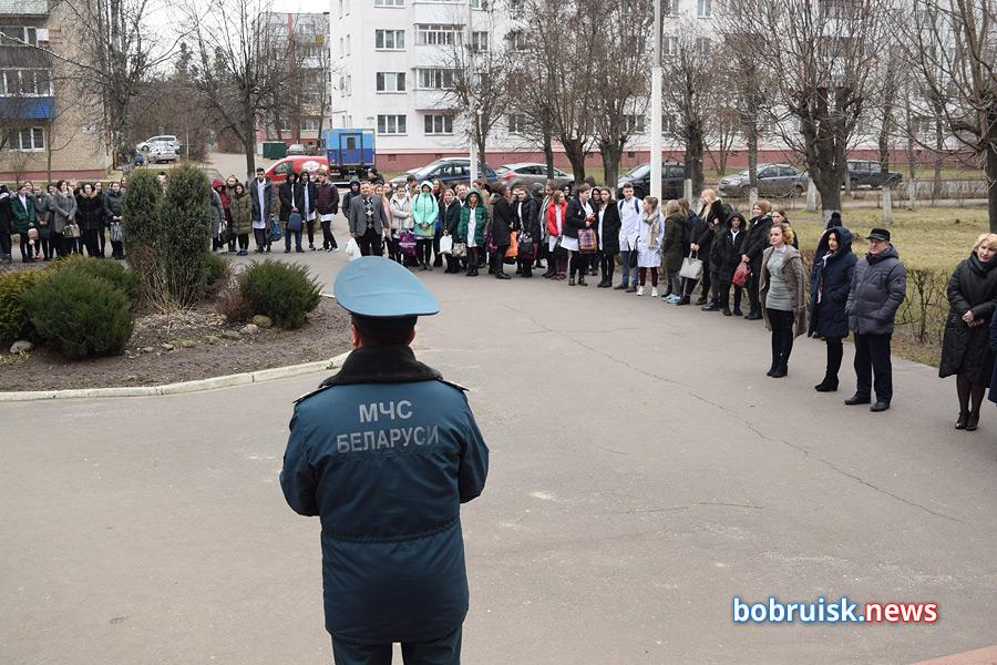 Почему эвакуировались учащиеся и сотрудники Бобруйского медколледжа?