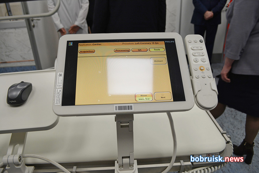 В Бобруйской больнице готов приступить к работе ангиографический комплекс