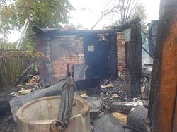 Днем 13 июня на телефон 112 поступило сообщение о пожаре в деревне Новики Ковалевского сельсовета.