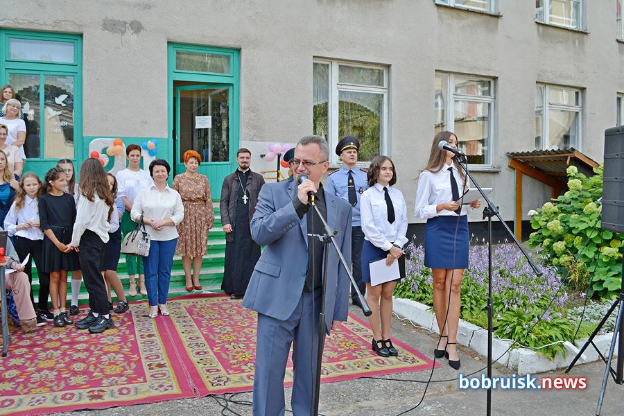 1 сентября в Бобруйске: в СШ №21