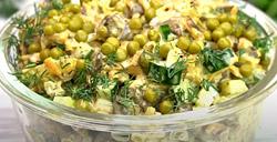 Готовим крутейший салат «Каприз». Вкусно и просто!