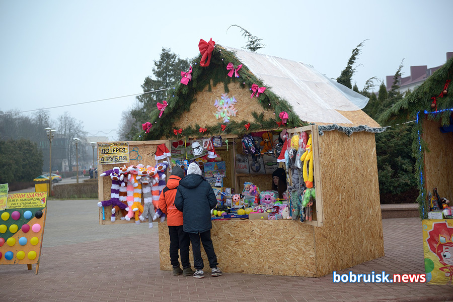 Третий день нового года в Бобруйске