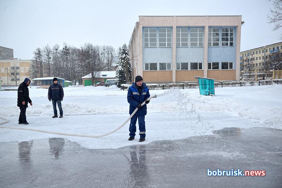 Зимний день в Бобруйске. Большой фоторепортаж