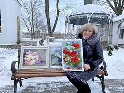 С 3 по 24 февраля в Выставочном зале Бобруйского художественного музея на улице Социалистической, 100 будет работать выставка мастера Елены Поляковой.