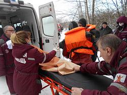 В Бобруйском районе спасли тонувшего мужчину
