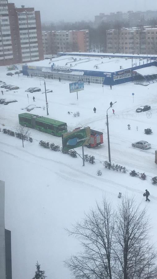Снежный шторм в Бобруйске: то ли еще будет!