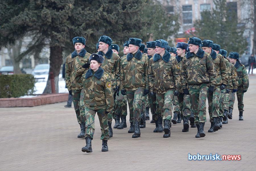 Бобруйск отмечает 23 февраля! (фоторепортаж)
