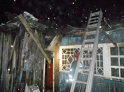 Пожары в Бобруйске. Остались без крыши. И без обшивки