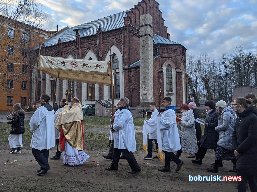 Католики Бобруйска отмечают Пасху