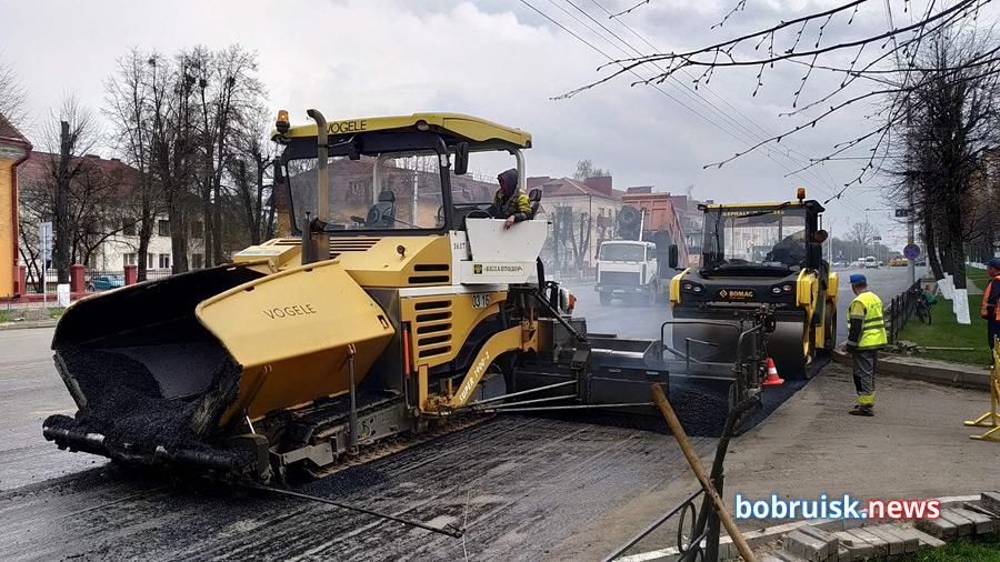Главная улица Бобруйска снова на ремонте. Какие изменения ждут водителей и пешеходов? (Обновлено)