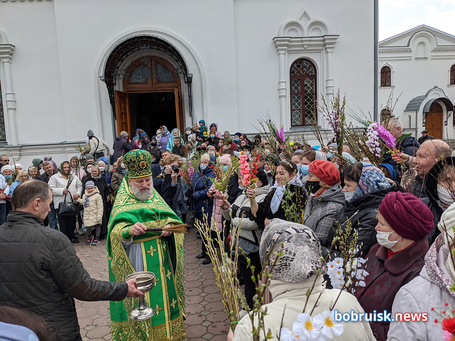 Вербное воскресенье в Бобруйске. Фоторепортаж (фото добавляются)