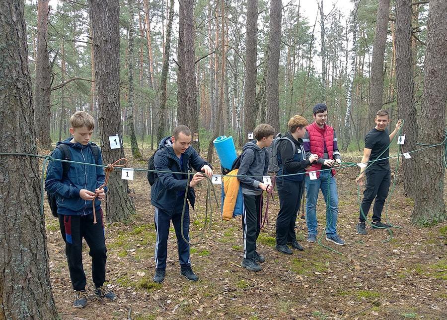 Тайными тропами под Бобруйском прошли «властелины леса»