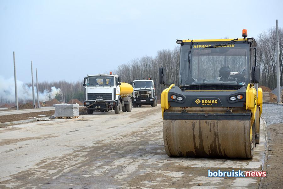 Мы узнали, когда откроют движение на новом участке проспекта Строителей в Бобруйске?
