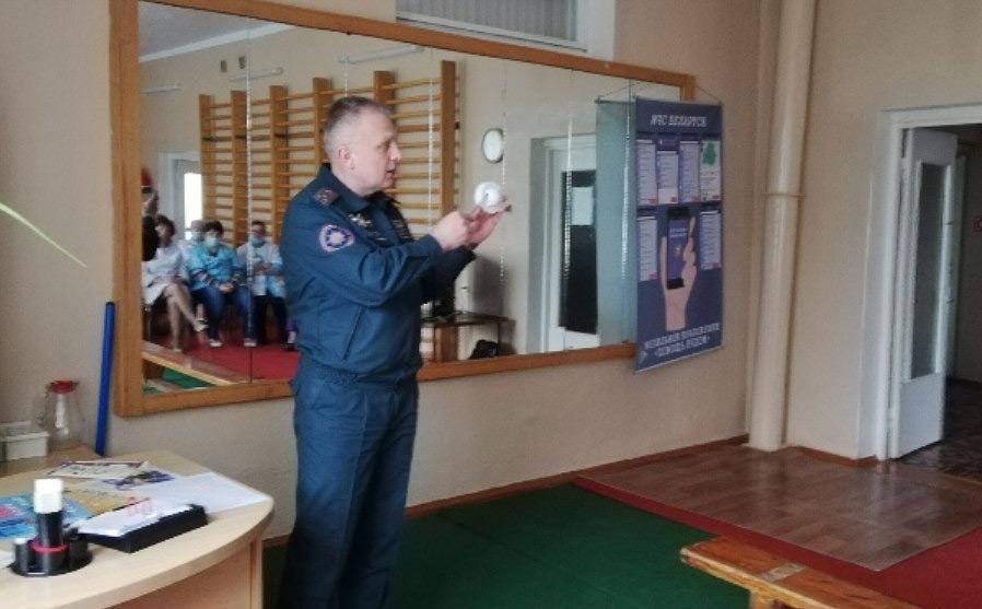 Начальник Бобруйского горрайотдела по ЧС рассказал, как уберечь себя и других