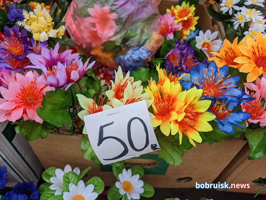 Цветы на Радуницу: что, где, почем в Бобруйске?