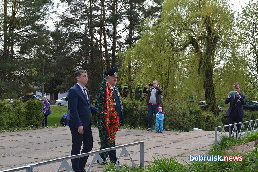 В Киселевичах отметили День Победы. Фоторепортаж