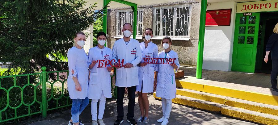 В четверг, 27 мая, Молодёжная бригада учреждения здравоохранения «Бобруйская городская поликлиника №3» приняла участие в медицинском обеспечении республиканского праздника «Последний звонок».