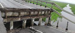 На автодороге Борисов-Березино рухнул мост
