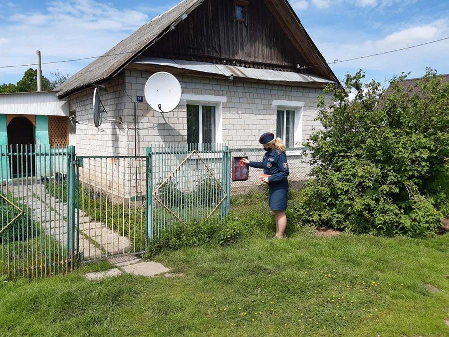 Сельский сход в Бобруйском районе