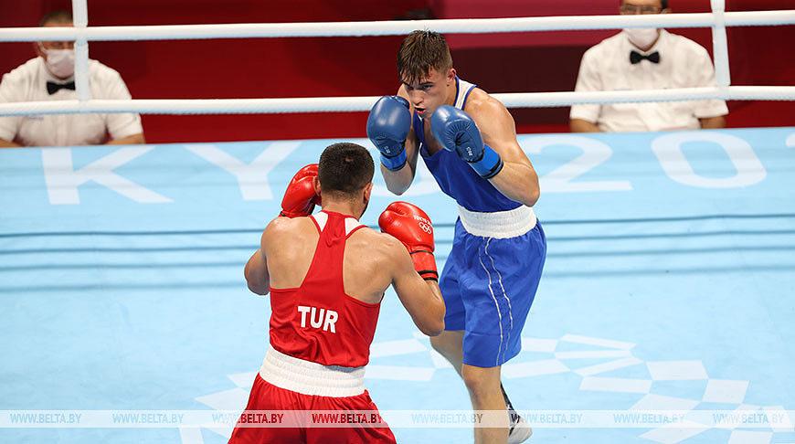 Белорусский боксер из Бобруйска Александр Радионов, выступающий в весовой категории до 69 кг, в стартовом бою 1/32 финала олимпийского турнира победил турка Нихата Екинчи.