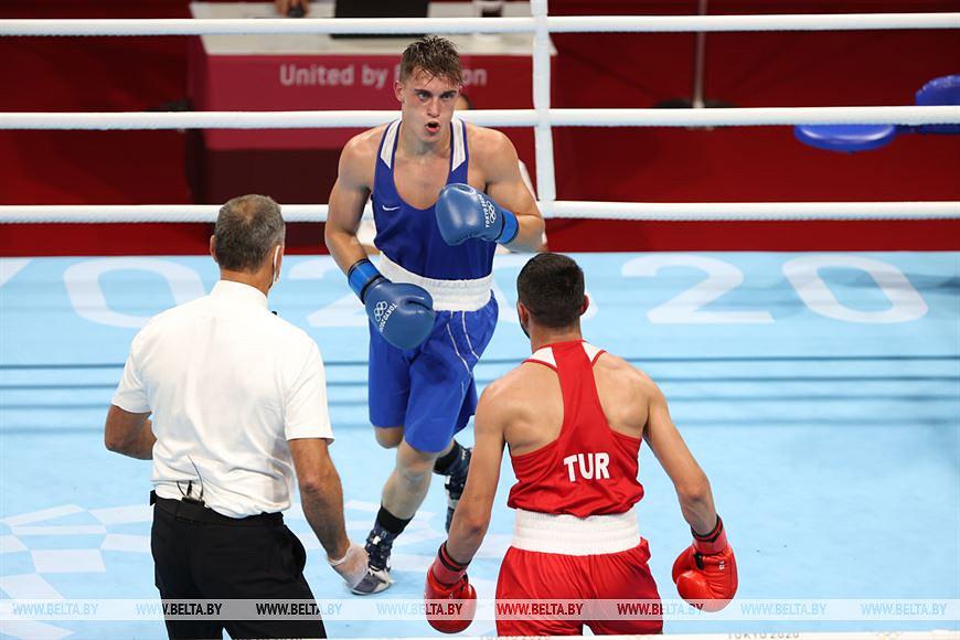 Боксер из Бобруйска победил в стартовом бою олимпийского турнира