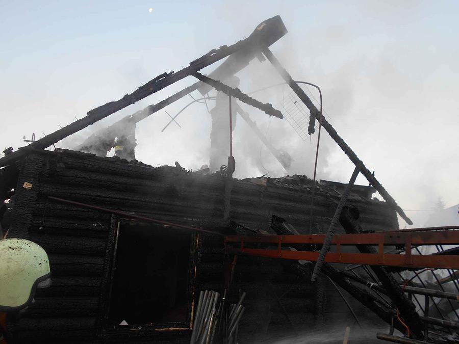 Огненный рассвет. Что горело в центре Бобруйска ранним утром в четверг