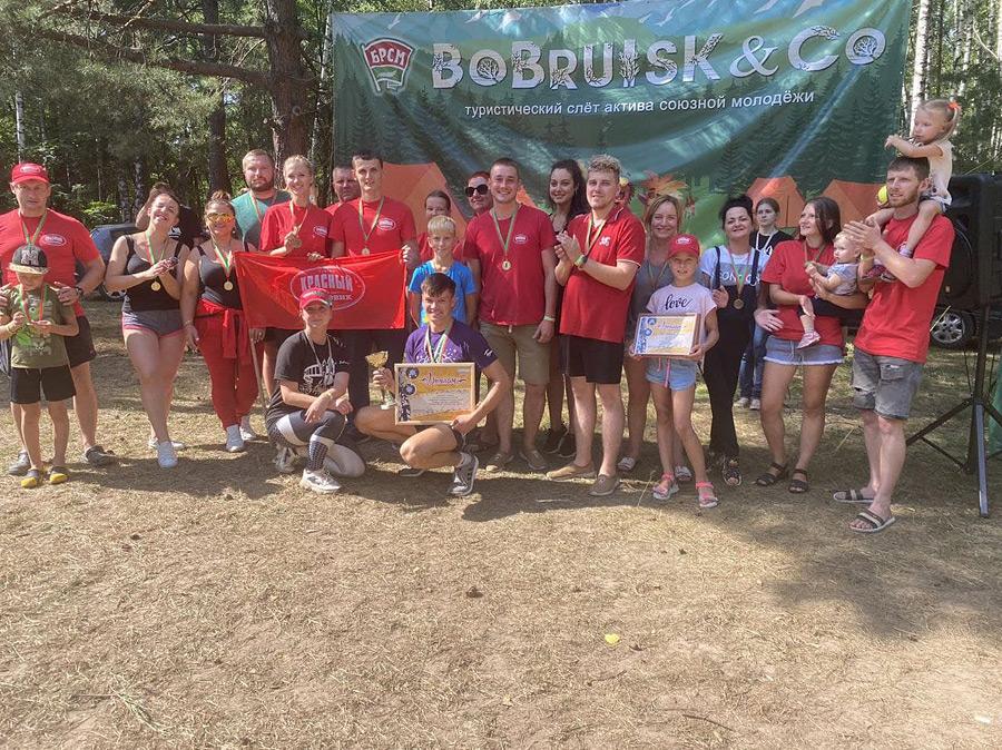 С 6 по 8 августа на Белом Береге проходил открытый городской туристический слет актива союзной молодежи.