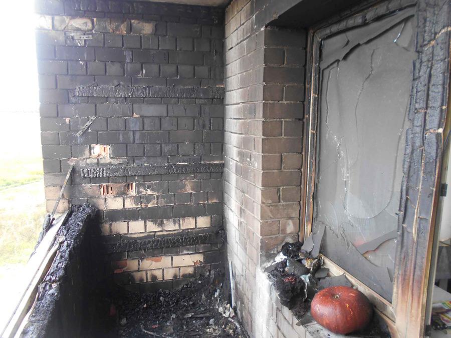 Пламя на балконе. Бобруйские спасатели спасли квартиру